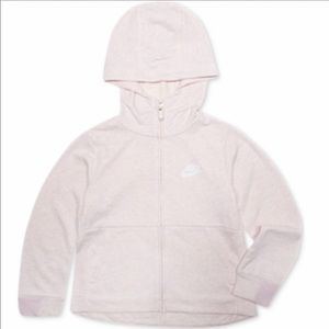 NEW Nike girls zipper hoodie